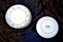 Abingdon Fine Porcelain China Tea Saucers Japan AA18 – 1152-B Vintage image 3