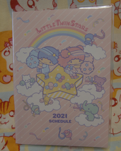 2021 Sanrio Little Twin Stars Schedule Book Diary Planner Notebook - $7.00