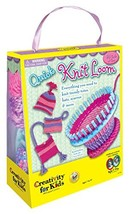 Creativity for Kids Quick Knit Loom – Teaches Beneficial Skills and Cr... - $32.09 CAD