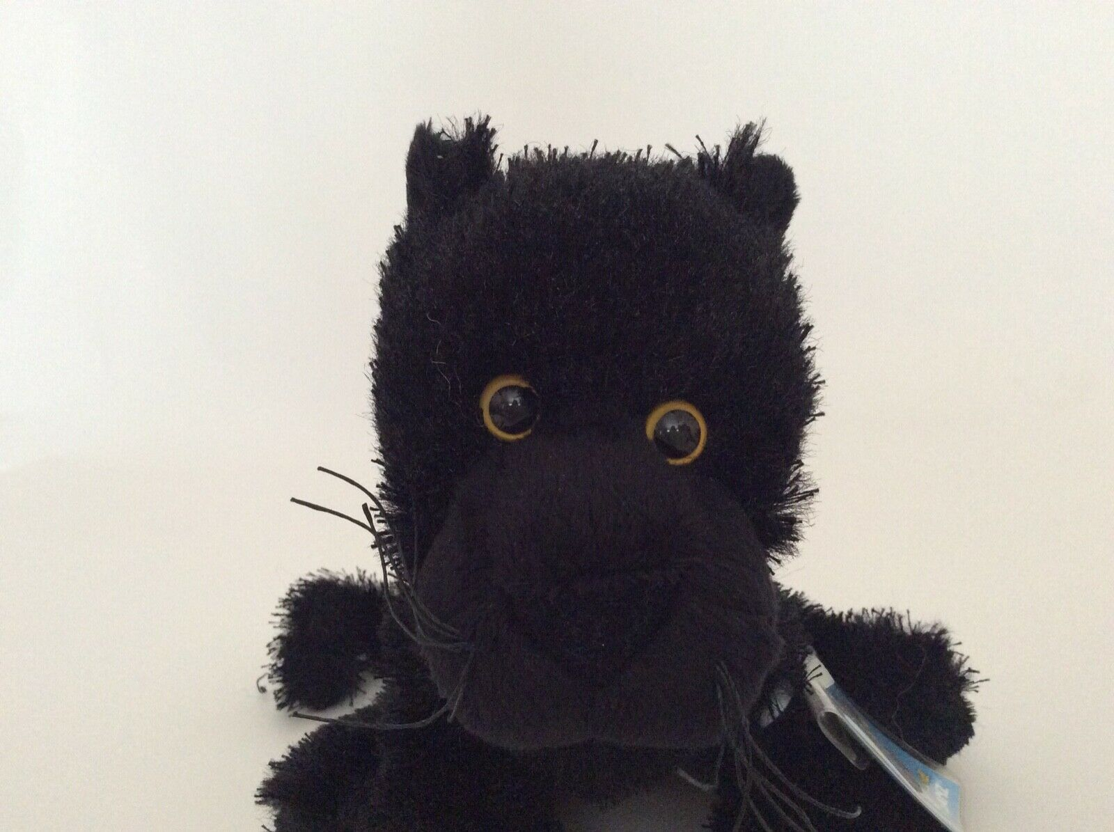 "Ganz WEBKINZ black PANTHER 8"" NEW UNUSED CODE plush stuffed animal"