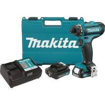"Makita FD06R1 12V Max CXT Lithium-Ion Cordless Hex Driver-Drill Kit, 1/4"" - $146.61"