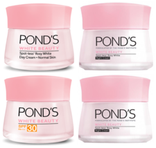 POND'S White Beauty Day & SPF30 PA+++ & Night Cream Spot-Less Rosy White... - $16.45+