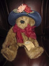 Boyd's Bears Fancy Hat Bear  With Tags Stuffed Doll - $8.38