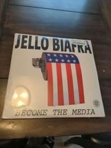 Jello Biafra Become the Media sealed vinyl LP record AK Press Tentacles ... - $99.00