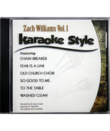 Zach Williams Volume 1 Christian Karaoke Style NEW CD+G Daywind 6 Songs - $15.86