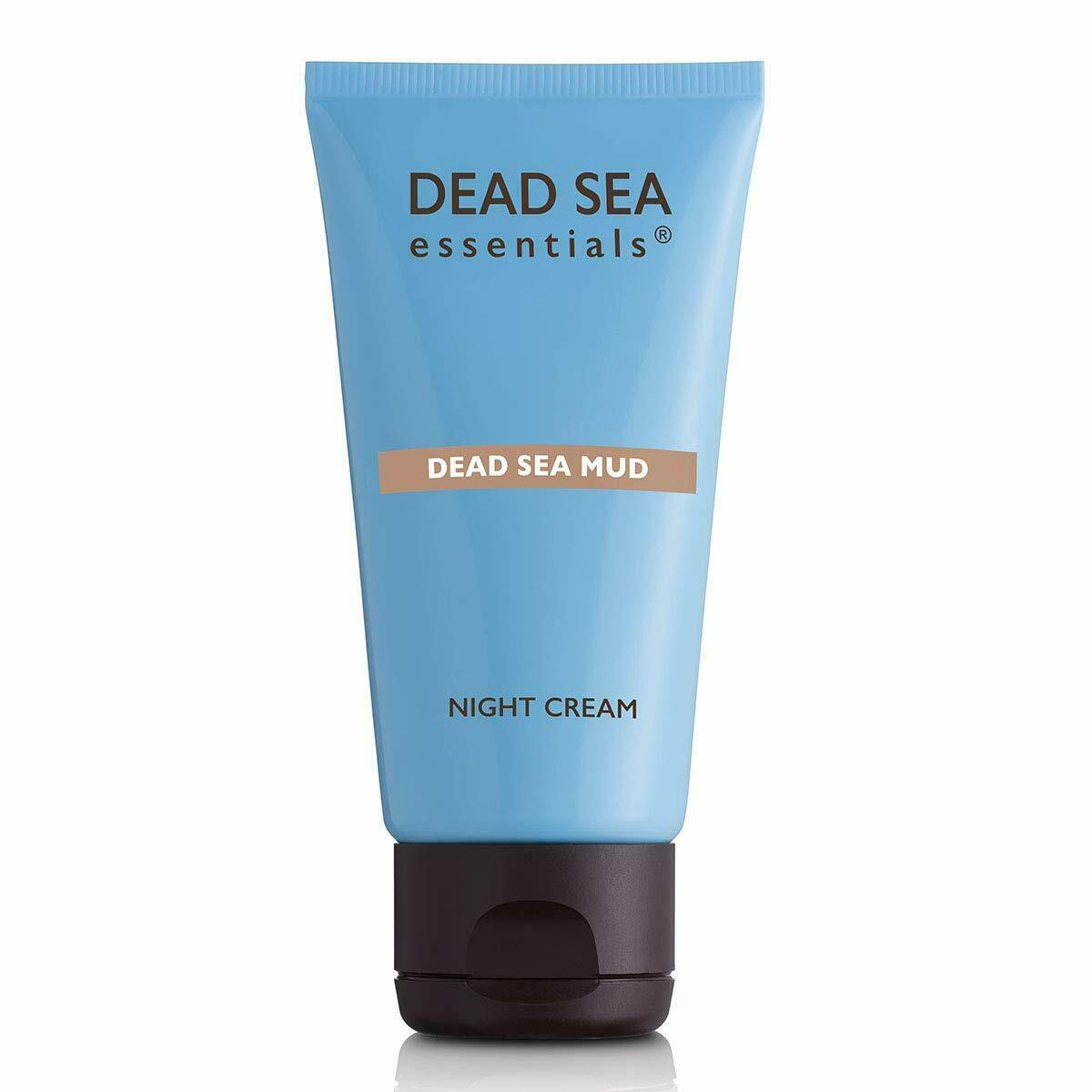 Ahava Dead Sea Essentials Mud Night Cream Hydrating Moisturizing Dry Skin 1.7oz - $19.95