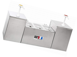 """Benchmark 52001 Condiment Station with Pump, 27"""" Width x 15"""" Height x 8""""... - $217.03"""