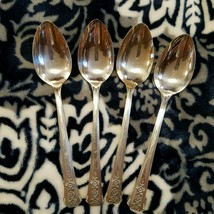 4 Tablespoons Oneida Community Tudor Plate FORTUNE Vintage 1939 Silverplate - $19.99
