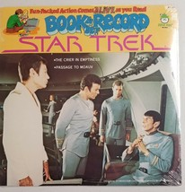 Star Trek 1979 Peter Pan Book & LP Record Set Brand New BR 522 Passage M... - $21.86