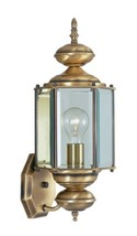 Livex Lighting 2006-01 Outdoor Wall Lantern with Clear Beveled Glass Shades, Ant - $111.78