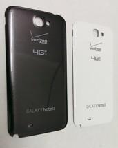 OEM Samsung Galaxy Note II 2 i605 Back Cover Battery Door Verizon- Gray ... - $6.99