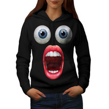 Surprise Face Cool Funny Sweatshirt Hoody Shocking Women Hoodie - $21.99+