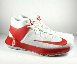 Nike Zoom Kevin Durant Mens US 17 White Red Basketball Shoes 856484-161 - $46.74