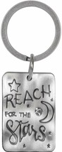 Reach For The Stars Keychain New Key Chain Ring AngelStar Nature's Grace  - $8.90