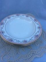 "Soup Plate(s) / BONE CHINA SPRING CREST by Christopher Stuart 9"" Ivory F... - $10.36"