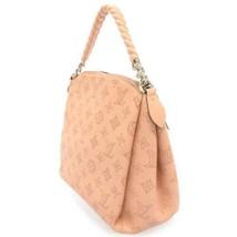 LOUIS VUITTON Babylone Chain BB Mahina Leather Creme M51767 Handbag Authentic