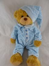 """People Pals golden Teddy Bear Plush 15"""" Stuffed Animal Soft Cuddly Boy i... - $20.78"""