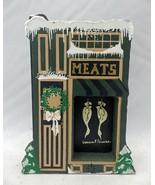 Shelia's Collectibles - Butcher Shop - Dickens Village - #XMS03 - $4.95