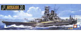 Tamiya 1/350 Ships No.16 1/350 IJN Battleship Musashi 78016 - $118.10