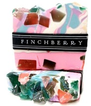 LOT OF 2 ❤️  FinchBerry Spark Handcrafted Finch berry Soap, 4.5 oz. ❤️ - $16.14