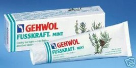 Gehwol Fusskraft Mint Foot Cooling Cream  75 ml - $26.00