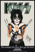 """KISS Peter Criss """"AHEAD DRUMSTICKS"""" 20 x 30 Reproduction Promo Poster - $45.00"""