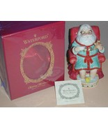 New Waterford Christmas Holiday Heirlooms Tea Time Bell Santa Figurine - $19.99