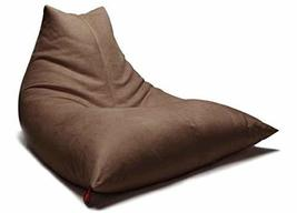 Bonita Relaxation Indoor Bean Bag Beanbag Pouch Cusion Sofa Chair (Brown) image 1