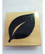 Anita's Wood Stamps: Leaf - $0.99
