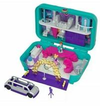Polly Pocket Hidden Places Dance PAR-TAAY! Case Set & Accessories Nib - $44.54