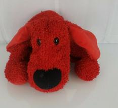 "Commonwealth Stuffed Plush Red Sparkle Hound Puppy Dog 2000 Valentines Day 16"" - $39.59"