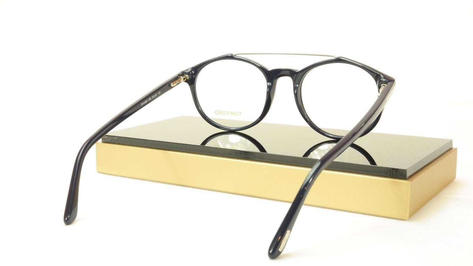 Tom Ford Authentic Eyeglasses Frame TF5455 090 Dark Navy Blue Italy 52-20-145 image 8