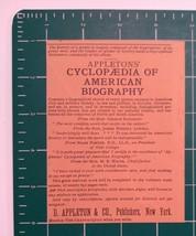 1889 D. Appleton & Co. Publishers Advertisement New York - $25.00