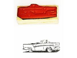 Collector Car Rubber Stamps Lincoln Continental Sunliner Rubber Stamp