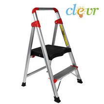 2 Step Ladder Folding Home Platform Stool 230 lbs capacity lightweight k... - $47.90