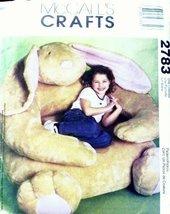 McCall's Crafts - 2783 - Children's Rabbit Chair - $12.74