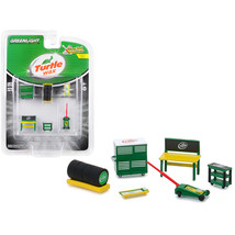 Turtle Wax 6 piece Shop Tools Set Shop Tool Accessories Series 1 1/64 by Greenli - $13.19