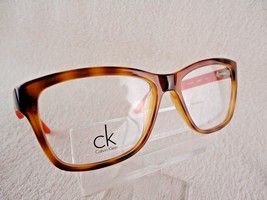 Calvin Klein CK 5827 Platinum (221) Havana/Orange 52 X 15 135 mm Eyeglas... - $62.32