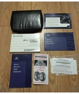 2003 Toyota Camry Owners Manual With Leather Case Excellent