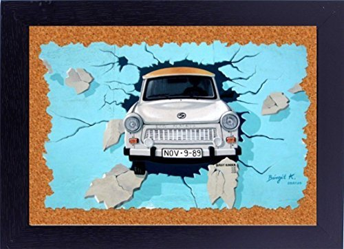 12x18 inches poster with frame Indian 3D Car wall Art home dcor art work gift fo - $29.70
