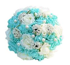 PANDA SUPERSTORE Beautiful Wedding Bouquet/Wedding Bride Bouquet/Artificial Bouq