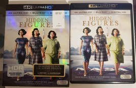 Hidden Figures [4K Ultra HD+Blu-ray, 2017] Includes fold out slipcover image 1