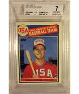 1985 Topps #401 Mark McGwire BGS Beckett 7.0 - $9.99