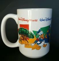 Walt Disney World Four Parks One World Grandma Coffee Mug Cup 14 oz Mickey Goofy - $9.89