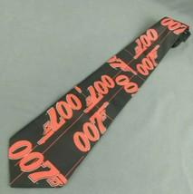 Ralph Marlin Mens Necktie James Bond 007 Polyester Espionage Vintage 1995  - $38.65