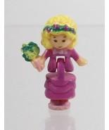 1993 Vintage Lot Polly Pocket Doll Wedding Chapel - Polly Bluebird Toys - $7.50