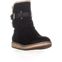 White Mountain Taite Ankle Boots, Black, 7.5 US - $34.55