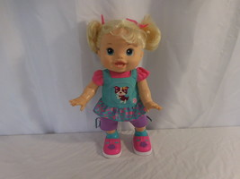 Baby Alive Baby Wanna Walk Blonde Walking Talking Puppy Outfit 2011 Works - $38.01