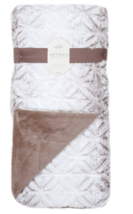 New Artisan Tipped Ombre Throw Blanket in Mocha Reversible Polyester War... - €42,04 EUR