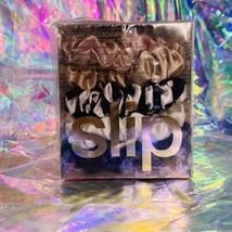 Sealed In Box Slip Silk Midi Size Scrunchies Pack Of 5 100% Mulberry Silk MULTI